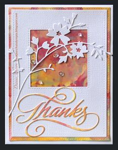 2721 best handmade cards ideas images on pinterest in 2018 bird backporch distress oxide glaze technique thanks making greeting cards hand made greeting m4hsunfo