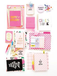 Make your desk fun with http://ban.do school supplies and desk accessories at Swoozie's!