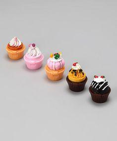 Cupcake Lip Gloss Set