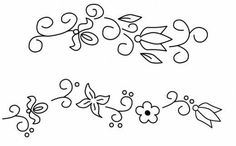 arabescos para bordar o pintar | MULTY PATRONES