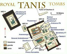 The Royal Tombs of Tanis, Egypt. Tanis was founded in the late Twentieth Dynasty, and became the northern capital of Egypt during the following Twenty-first Dynasty. The kings at Tanis saw themselves as the legitimate successors on the throne of Upper and Lower Egypt.