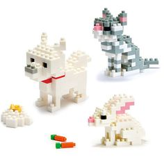 nanoblock Pets, $24, now featured on Fab.