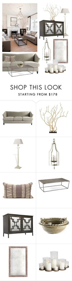 """""""Get The Look: Living Room"""" by kathykuohome ❤ liked on Polyvore featuring interior, interiors, interior design, home, home decor, interior decorating, Retrò, living room, Home and homedecor"""