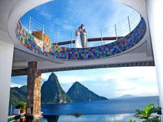 Jade Mountain St Lucia wedding - Your ultimate guide to weddings in the Caribbean #blog