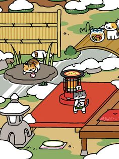 Guy Furry stopped by to cook dinner.