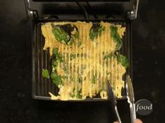 It's not pretty, but a panini maker can be used for omelets. | 40 Creative Food Hacks That Will Change The Way You Cook