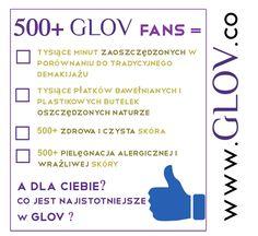Udostępnij ten post żeby wziąć udział w konkursie, w którym można wygrać jeden z 5 produktów GLOV lub jeden z 10 kodów zniżkowych upoważniających do -50% zniżki na www.glov.co!! Napisz pod postem co jest dla Ciebie najważniejsze w GLOV! W loterii wybierzemy zwycięzców! Tylko Fani GLOV Hydro Demaqyullage mogą brać udział w konkursie - Polub nas na FB! ;))