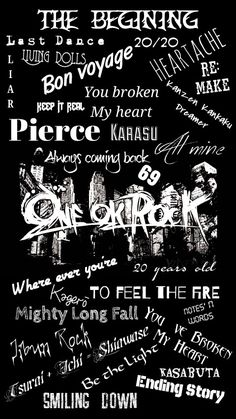One ok rock wallpaper One Ok Rock, Emo Bands, Rock Bands, Rock Sound, Band Wallpapers, Anime Songs, Bff, Eye Of The Storm, Going On A Trip