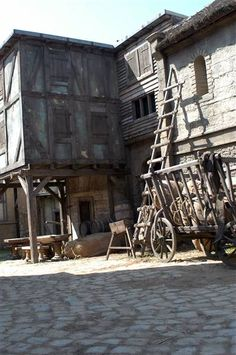 Day 5- Favorite Location: Nottingham. Super beautiful and complex set. Nice