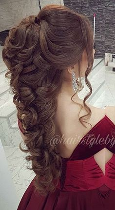 40 gabriela super cute hairstyles 030 40 gabriela super cute hairstyles 030 Related Post Beautiful Bridal Wedding Updos Hairstyles – . Cute simple upddos for long hair how to do it in Peinados 2017 trending half up half down wedding hairstyles. Quince Hairstyles, Easy Formal Hairstyles, Super Cute Hairstyles, Wedding Hairstyles For Long Hair, Wedding Hair And Makeup, Bride Hairstyles, Bridal Hair, Quinceanera Hairstyles, Long Hair Wedding Styles