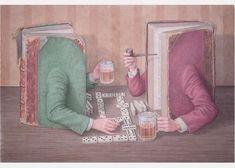 Jonathan Wolstenholme,  Two Old Tomes