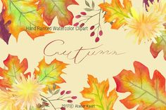 Hand Painted Watercolor Clipart / Fresh Green Ivy Clipart This clipart set is including hand painted watercolor fresh green ivy leaves. Leaf Clipart, Flower Clipart, Wedding Card Design, Wedding Cards, Ivy Leaf, 12 Image, Passion Flower, Fresh Green, Dahlia