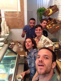 Celebrando la vuelta de Adri! Equipo casi completo, a falta de Karim | Mistura Handcrafted Ice Cream