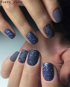 If you love modern life, this style is just for you! #nails #modern #design #manicure