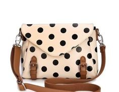 Retro Cute Polka Dot Purse