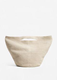Хлопковая сумка-торба | MANGO