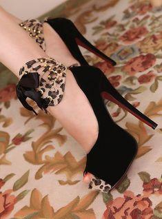 animal print shoes