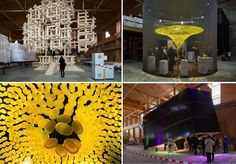 Installations at Hector Egger (clockwise from top left): Hector Egger, arwa, PV Swiss, arwa/ Photo credit: © Designers' Saturday by Anne Morgenstern, Daniel Sutter Swiss Design, Old Barns, Design Show, Photo Credit, Design Trends, Design Inspiration, Creative, Blog