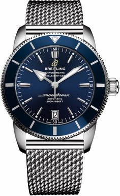 @breitling Watch Superocean Heritage II 42 Blue #add-content #basel-17 #bezel-unidirectional #bracelet-strap-steel #brand-breitling #case-depth-14-35mm #case-material-steel #case-width-42mm #cosc-yes #date-yes #delivery-timescale-call-us #dial-colour-blue #gender-mens #luxury #movement-automatic #new-product-yes #official-stockist-for-breitling-watches #packaging-breitling-watch-packaging #style-dress #subcat-superocean-heritage #supplier-model-no-ab201016-c960-154a…