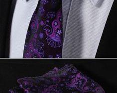 Luxusná pánska sada - viazanka s vreckovkou - vzor 05. Tie Clip, Fashion, Moda, Fashion Styles, Fashion Illustrations, Tie Pin