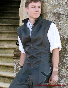 Kestrel Jerkin - Amazing Leather Outfits pieces and everything! Maybe for Braedyn, different colors?