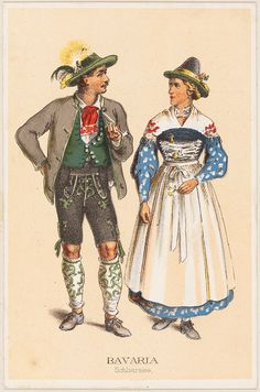 German Costumes - Bavaria Schliersee. Repinned by www.mygrowingtraditions.com