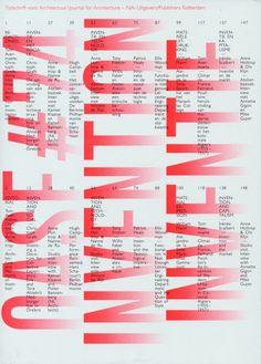 Magazine For Architecture (Tijdschrift voor Architectuur