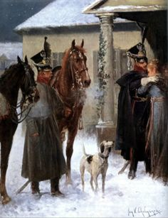8th Uhlan Regiment of Duchy of Warsaw_1811 commander Dominik Radziwiłł