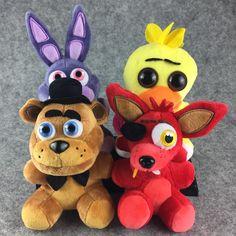 Five Nights at Freddy's 4 Juguetes Fnaf World Bear Chica Bonnie Plush Doll Stuffed Animal