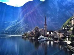 """Old Town Hallstatt, Austria  