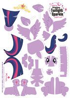 The folks at deviant art have got some kickin' crafts!  :)  tons of MLP printable ponies to make!!!