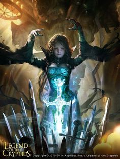 Excalibur Legend of The Cryptids.