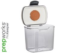 Price: (as of – Details) The Prepworks by Progressive Brown Sugar ProKeeper storage container combines high quality construction with a silicone seal for air-tight storage. Hard Brown Sugar, Soften Brown Sugar, Sugar Storage, Bread Storage, Flour Storage, Storage Canisters, Kitchen Storage, Kitchen Organization, Storage Organization