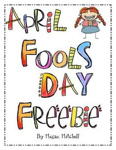 Enjoy this writing and reading activity for April Fool's Day!...