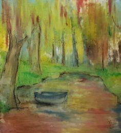 lake / oil,canvas
