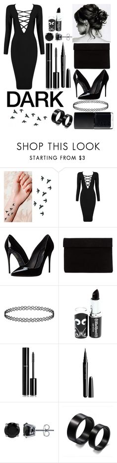 """""""black shade"""" by lana21love ❤ liked on Polyvore featuring Posh Girl, Dolce&Gabbana, Chanel, Marc Jacobs, BERRICLE and NARS Cosmetics"""