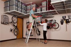 Garaginization Offers Garage Storage Systems, Overhead Shelving, Garage  Flooring U0026 Cabinet Solutions, Garage Ceiling Storage Racks For Your  Warehouse In ...