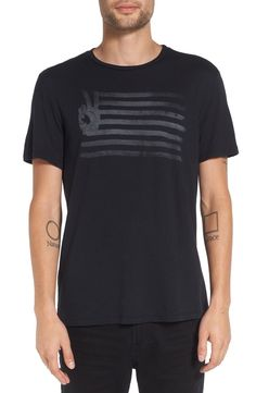 Main Image - John Varvatos Star USA 'Peace Flag' Graphic T-Shirt