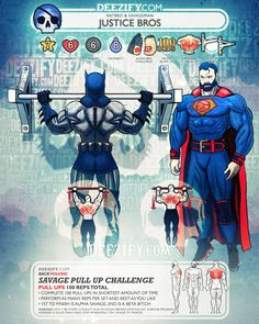 back exercise: pull up justice bros