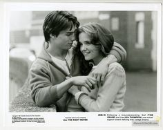 All the Right Moves - Lobby card with Tom Cruise & Lea Thompson. The image measures 964 * 768 pixels and was added on 3 October Tom Cruise Young, 1980s Films, Movie Pic, What Was I Thinking, Z Cam, Celebrity Dads, Celebrity Style, Old Movies, Classic Movies