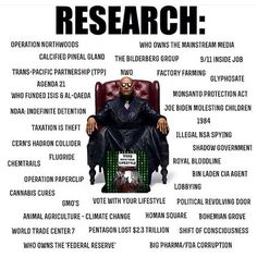 Research these topics to deprogram yourself and find out the harsh truths.