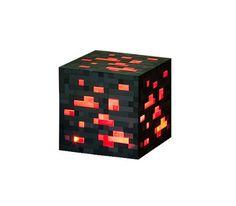 Minecraft Redstone Ore by Think Geek http://popvinyl.net #funko #funkopop #popvinyl