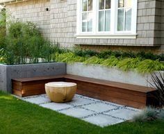 back yard planter inspiration