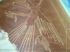 Nazca och de märkliga, oförklarliga linjerna som endast syns från luften