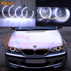 Find More Car Light Accessories Information about For BMW E46 3 Series Coupe with HID headlights 2000 2003 Excellent Ultra bright illumination COB led angel eyes kit halo rings,High Quality Car Light Accessories from Geerge-Tech on Aliexpress.com