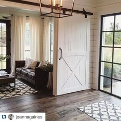 We hope you enjoyed your weekend- and we also hope you followed Jo's lead and relaxed on this very rainy-in-Texas weekend! #seasonthreeiscoming #Repost @joannagaines ・・・ It was a downpour today but our amazing #fixerupper crew made it through another reveal. We love our team! Now it's time to bust out the sweats and watch a movie- yay weekend! @hgtv
