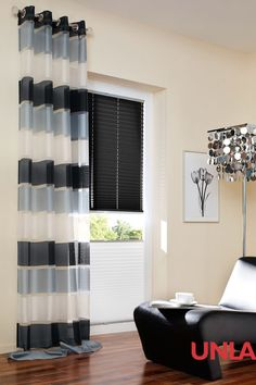 Unland Moridor, Fensterideen, Vorhang, Gardinen und Sonnenschutz - curtains, contract fabrics, pleated blinds, roller blinds and more. Made in Germany