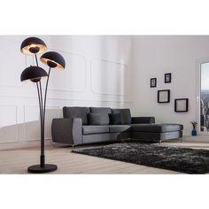 Vloerlamp Studio III 170cm Zwart/Zilver - 37003