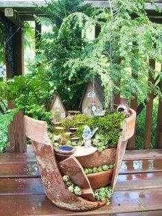 Jardin miniature... ... | great ideas | Pinterest | Jardins, Diy ...