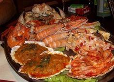 Mariscada en Galicia